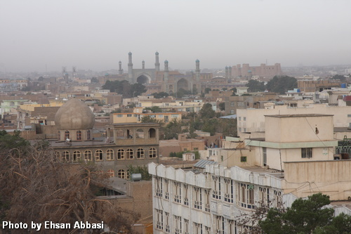 Herat from above